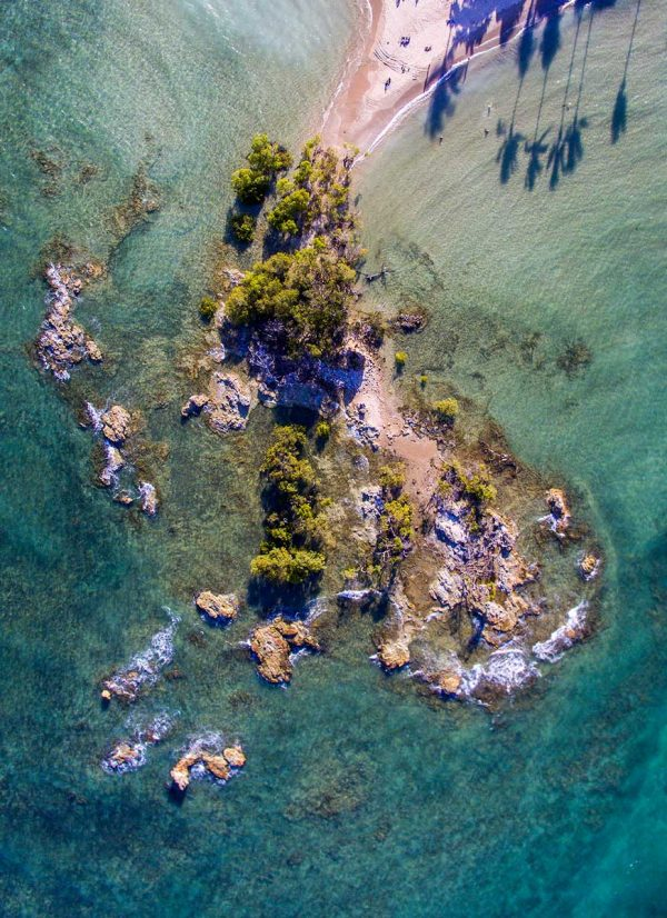 Aerial nature photography - Morro de Sao Pablo