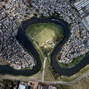 Luftaufnahmen von Stadtlandschaften - Luftaufnahmen von Flüssen - Stadtlandschaftsbilder - International preisgekrönte Fotografie