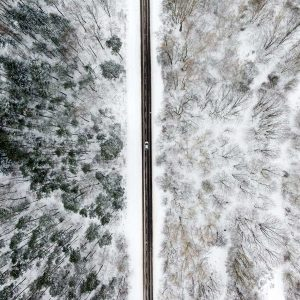 Kunstfotografie. Luftbildaufnahmen im Großformatdruck
