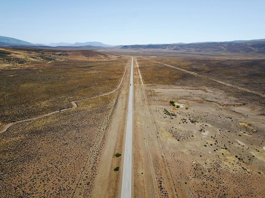 Ruta 40 cerca de Esquel