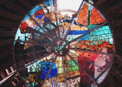 ornamentales Fenster von Club Boca Jrs.