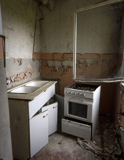 Someone forgot something in the kitchen