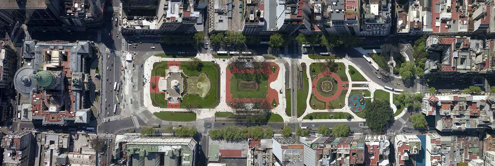 Architecture photography - Plaza Congreso - Buenos Aires